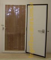 porta frigorifica giratória