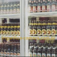 Câmara frigorifica para cerveja com porta de vidro